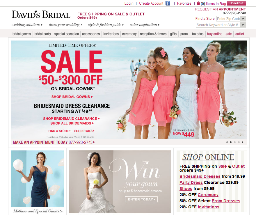 David's bridal coupon code