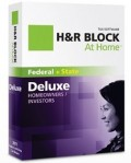H&R Block: 20% Off At Home Software Deluxe Edition