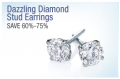 Netaya: 60% - 75% Off On Dazzling Diamond Stud Earring