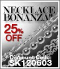 SilverShake: 25% Off On All Sterling Silver Necklace