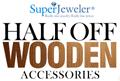 SuperJeweler: 50% Off Stylish Wooden Accessories