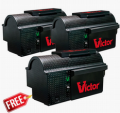 VictorPest: 33% Off On Victor® Multi-Kill™ Electronic Mouse Trap 3-Pack Bundle+Free Shipping