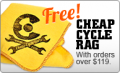 Cheap Cycle Parts: Free Cheap Cycle Rag $119+