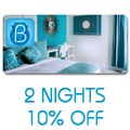Beacon Hotel: Stay 2 Nights Get 10% Off