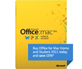 15% Off Office For Mac Home And Student 2011