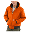Carhartt: Free Shipping On Carhartt Blaze Orange J140 Active Jacket
