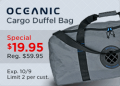 Leisure Pro: 69% Off On Oceanic Cargo Duffel Bag