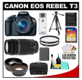 Cameta Camera: $250 Off Black Friday Canon T3 Bundle