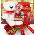 Huggable Teddy Bears: Beary Sweet Gift Basket For Only $59.99