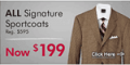 Mensusa: 65% Off  Signature Sportcoats