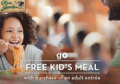 OliveGarden: Free Kid's Meal With An Adult Entree