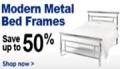 Bedstar: Up To 50% Off Modern Mental Bed Frames