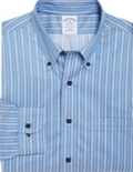 Brooks Brothers: 50% Off On Men's Stripe Sport Shirt