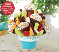 Edible Arrangements: Free Delivery On Large Confetti Fruit Cupcake Dipped Strawberries & Bananas