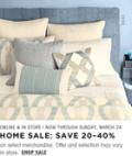 Bloomingdales: 20%-40% Off On Select Merchandise