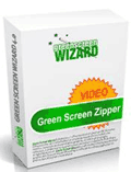 Green Screen Wizard: Green Screen Zipper Only $99.95
