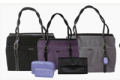 "Careerbags: $205 Off On Coakley 15"" Everyday Faux Suede Microfiber Portfolio +Leather Clutch + Accessory Pouches"