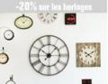 Alinea: 20% De Réduction Sur Les Horloges