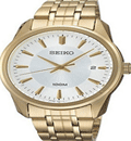 Watch Co: 50% Off Seiko Men Calssic Analog Stainless Watch Gold Bracelet Silver Dial