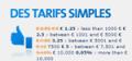 Binck: Des TARIFS SIMPLE