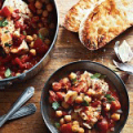 Ozonator: Halibut And Chorizo Stew With Garlic Toasts Recipe