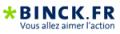 Clic pour accéder à Binck