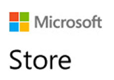 Clique para abrir Microsoft Store loja