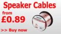 TVCables: Speaker Cables From £0.89
