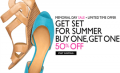 Nine West: BOGO 50% Off Sitewide For Memorial Day