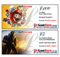 GameSeek: Gameseek Gift Vouchers