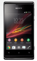 TalkMobile: Sony Xperia E Black From £10 A Month + Free Delivery