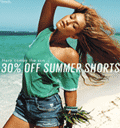 GUESS: 30% Off Summer Shorts