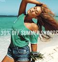 GUESS: 30% Off Summer Shorts