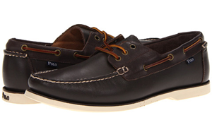 Zappos: 28% Off On Polo Ralph Lauren Men's Bienne Boat Shoes