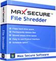 MaxSecure: 25% Off Max File Shredder