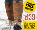 Robinsons: Free Delivery £139 On Dublin River Boots