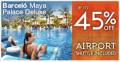 BarceloHoteles: 45% Rabatt Barceló Maya Palace Deluxe