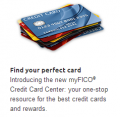 MyFICO: Find Your Perfect Card