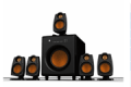Xoxide: 80% Off Primal 5.1 Surround Sound System With Wireless Rear Speakers