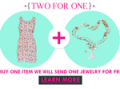 ZLZ.com: Buy One Item Get A Jewelry For Free