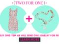 ZLZ.com: Buy One Item Get A Jewelry For Free