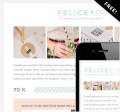 BluChic: Download Felice Theme For FREE