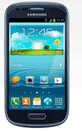 TalkMobile: Samsung Galaxy S3 Mini Blue From £15 A Month + Free Delivery