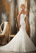 Dido Bridal: 55% Off Mermaid Sweetheart Tulle Court Train Wedding Dress