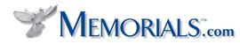 Click to Open Memorials.com Store