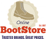 Click to Open OnlineBootStore.com Store
