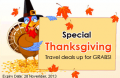 Globester: $10 Off Special Thanksgiving Travel Deals