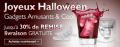 Mini In The Box: Gadgets Halloween Jusqu'à 30% De Réduction + Livraison Gratuite