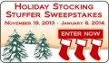 Tafford: Holiday Stocking Stuffer Sweepstakes