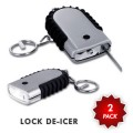 PricePlunge.com: 80% Off Hot Key Lock De-Icer With Built-In Light 2 Pack